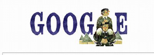 Gérard Oury et sa Grande Vadrouille célébrés par Google