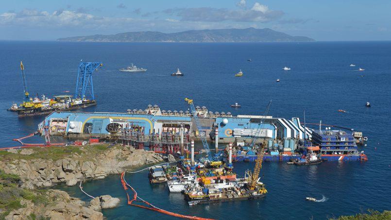 Le renflouement du Costa Concordia suspendu sine die