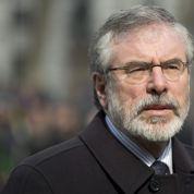 Gerry Adams, leader du Sinn Féin, arrêté
