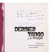Le script du Dernier tango à Paris aux enchères