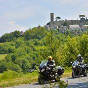 Le tour du Limousin à moto