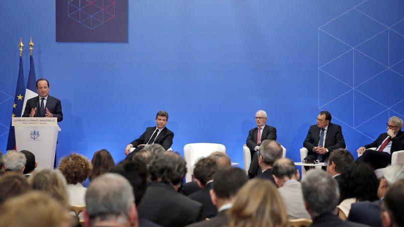 François Hollande veut accélérer la reconquête industrielle