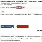 Matignon s'y reprend à trois fois pour bien orthographier le nom du soldat mort au Mali