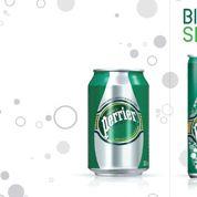 Coca-Cola et Perrier se convertissent à la canette slim