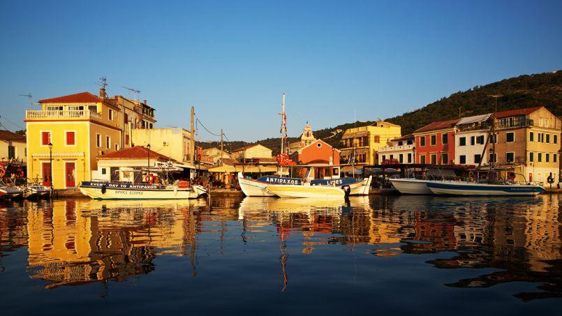 Paxos se résume à trois petits ports aux allures toutes italienne: ici, Gaïos, la capitale.