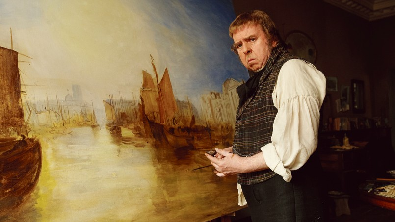 Timothy Spall incarne de façon stupéfiante William Turner.