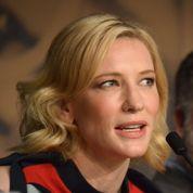 Cate Blanchett s'amuse à la conférence de Dragons 2