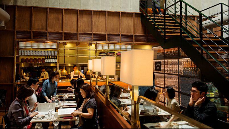 Dans le quartier huppé de Hannamdong, le restaurant Second Kitchen est le rendez-vous branché du moment.