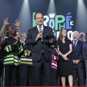 Hollande s'invite aux trophées de l'impro théâtrale