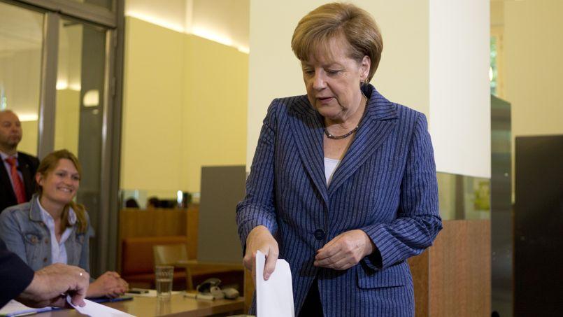Européennes 2014 : Merkel gagne malgré la poussée du SDP et des anti-euro de l'AfD