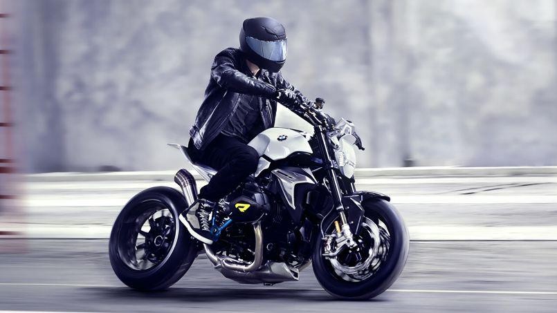 bmw concept roadster moto minimaliste. Black Bedroom Furniture Sets. Home Design Ideas