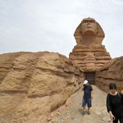 La réplique chinoise du Sphinx de Gizeh sera détruite