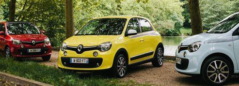 Renault Twingo, première sortie
