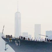 À New York, l'«USS Cole» célèbre la victoire sur al-Qaida