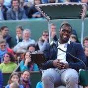 Roland-Garros : Teddy Riner jette une balle en plein match de Gasquet