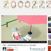 Avec Gangnam Style ,Psy offre à YouTube son record absolu de vues