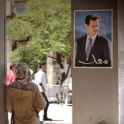 Damas résignée avant la «farce» électorale de Bachar el-Assad