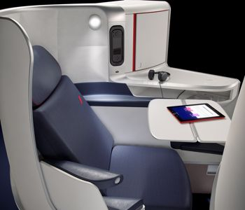 Air france va remplacer plus de si ges for Interieur d avion air france