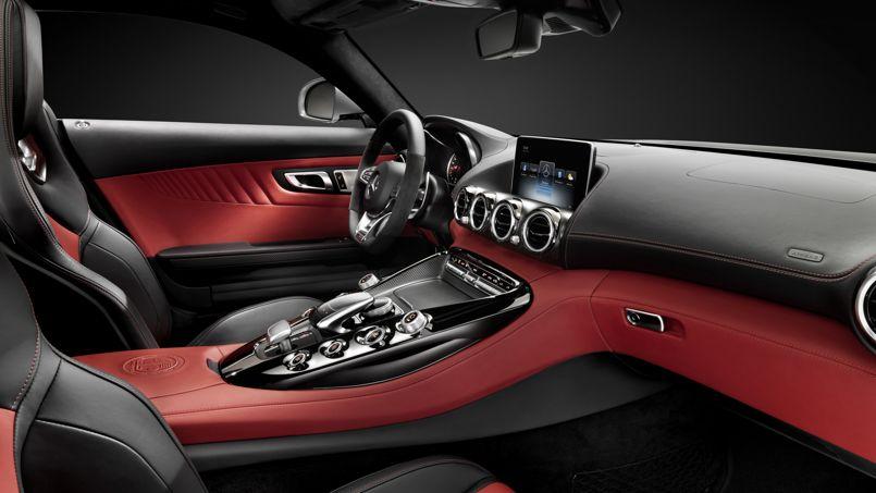 Nouvelle Mercedes AMG GT, l'habitacle se dévoile