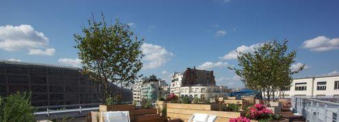 Rooftop de Molitor, et plouf!