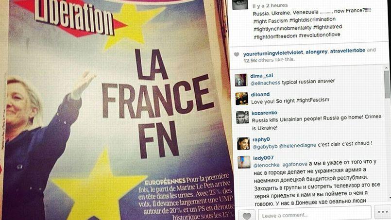 Madonna scandalisée par la montée du Front national en France