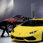 Patrouille en Lamborghini Huracan pour la police italienne