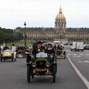 100 voitures anciennes au départ de Paris-Rambouillet