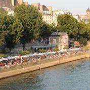 Les 5 tables au bord de l'eau à Paris