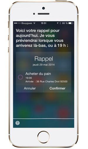 L'Iphone 5s.