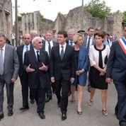 À Oradour-sur-Glane, Valls dénonce les «petits agitateurs vénéneux de la mémoire»