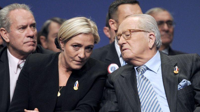 Père vs fille: «Jean-Marie Le Pen est le pire ennemi du FN»