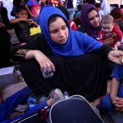 L'exode des habitants de Mossoul