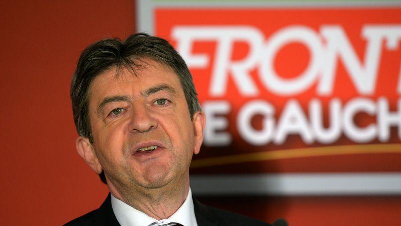 Le leader du Front de gauche Jean-Luc Mélenchon