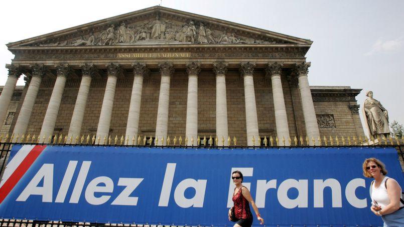 L'Assemblée Nationale soutenait déjà activement l'équipe de France en 2006