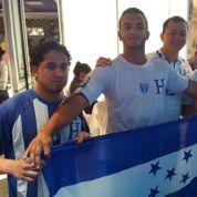On a suivi le match des Bleus à l'ambassade du Honduras