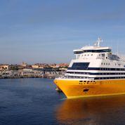 Un bateau de Corsica Ferries naviguait avec une brèche de 50 mètres dans la coque