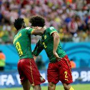 Mondial 2014 : Le coup de tête d'un joueur du Cameroun à son coéquipier
