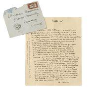 Camus, ses lettres à son amie d'Algérie vendues 91.500 euros
