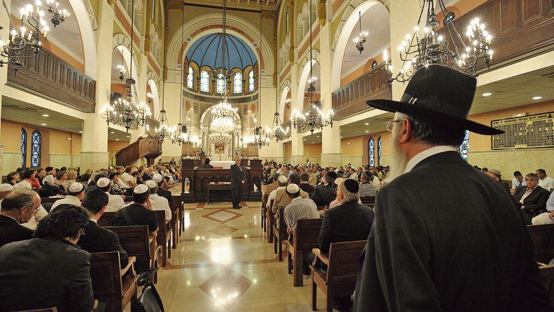 En France, le grand rabbin est considéré comme «la» figure religieuse du judaïsme français. Ici, la grande Synagogue de Marseille.