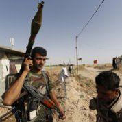 Sur la frontière entre tribus d'Irak et Kurdes