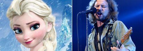 La Reine des Neiges prend un coup de rock avec Pearl Jam