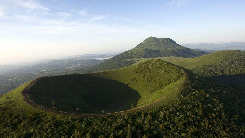 Lafaille de Limagne, élément géologique et tectonique majeur de la chaîne des Puys.