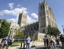 La Cathédrale nationale de Washington est la deuxième plus grande église des États-Unis.