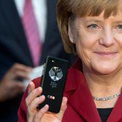 Merkel se dote d'un nouveau smartphone ultra-sécurisé