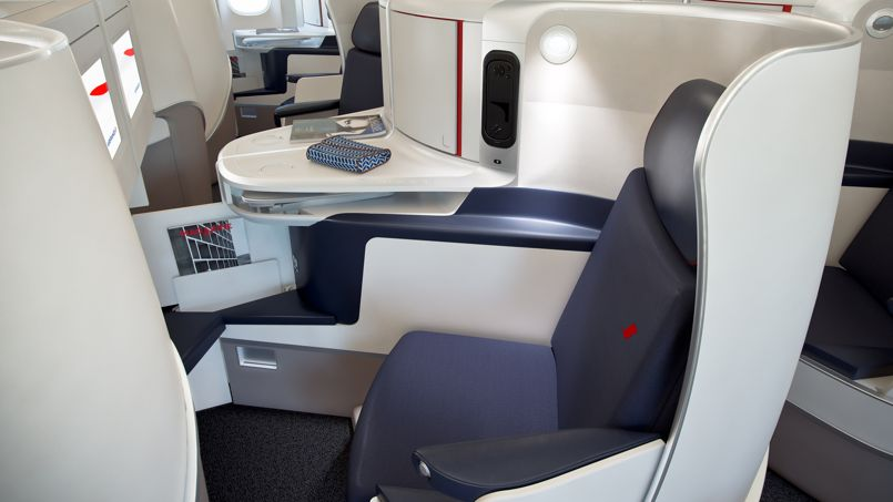J 39 ai essay la nouvelle classe affaires d 39 air france for Air france vol interieur
