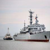DCI forme des équipages russes à la navigation du Mistral
