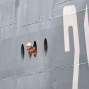 La présence gênante de 400 marins russes à Saint-Nazaire