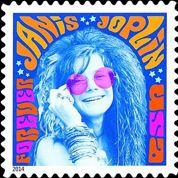 Janis Joplin immortalisée par la poste américaine