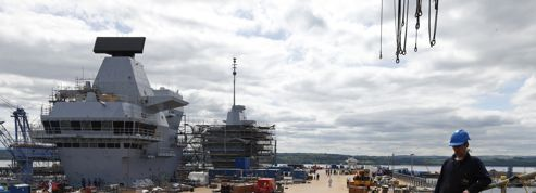 Le Royaume-Uni va baptiser son nouveau porte-avions au whisky