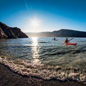 Raid en kayak au Groenland
